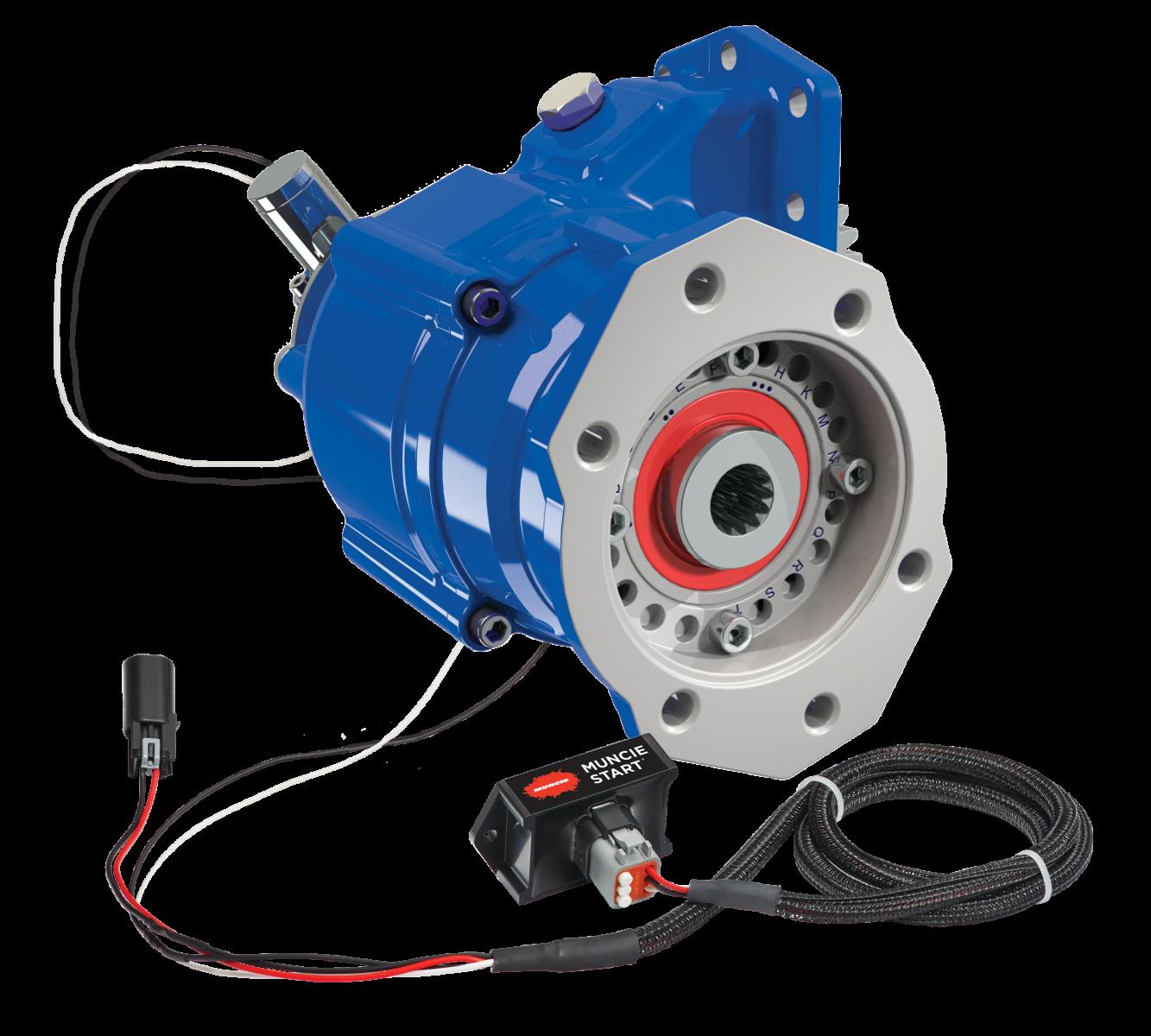 Muncie Power A20 Series PTO with Muncie Start