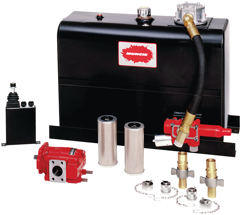 fluid power products Wet Kit for Semi Tractor combo kit ii series wet line kit