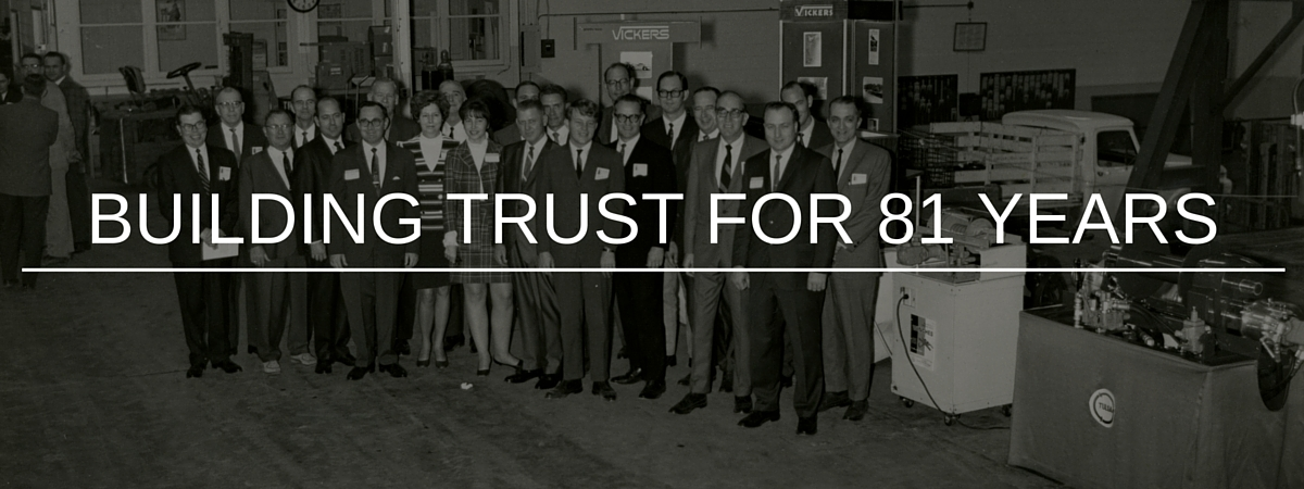Building Trust for 81 Years